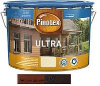 Водоотталкивающее лазурное деревозащитное средство Pinotex Ultra Lasur тик 10л