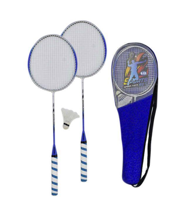 """Набор для бадминтона ракетки с воланом """"Sports"""" C34536 в чехле, синий"""