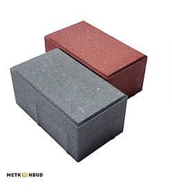 Тротуарная плитка брусчатка 200x100x40