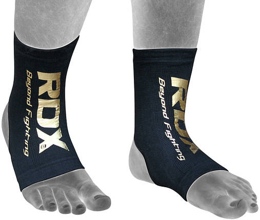 Защита голеностопа RDX Black New (2шт) XL, фото 2