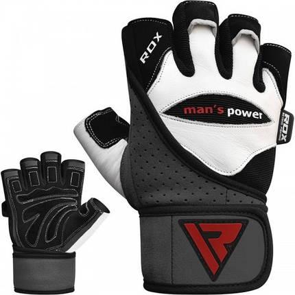 Перчатки для зала RDX Pro Lift Gel S, фото 2