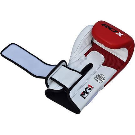 Боксерские перчатки RDX Pro Gel Red 12 ун., фото 2