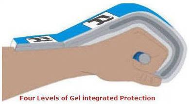 Боксерские перчатки RDX Pro Gel Red 12 ун., фото 3