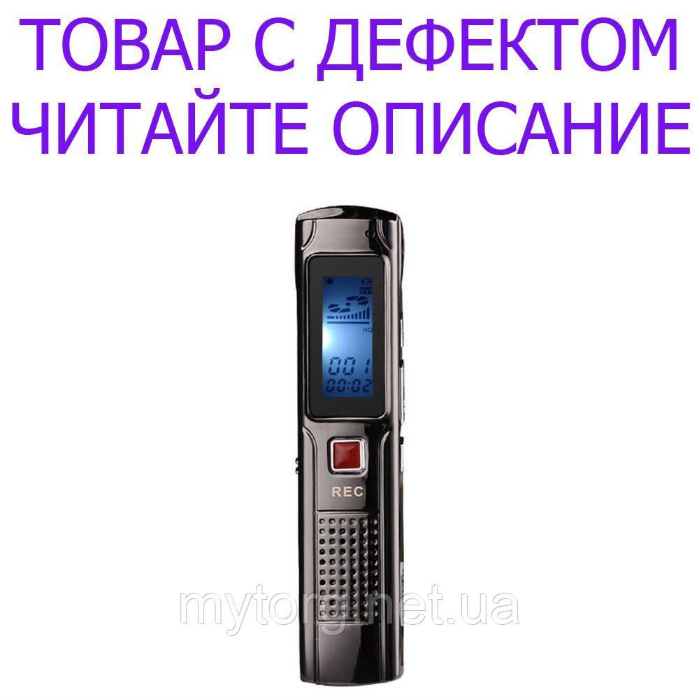 Товар имеет дефект Цифровой диктофон  C97 OEM J809  8Гб  mp3-плеер №240