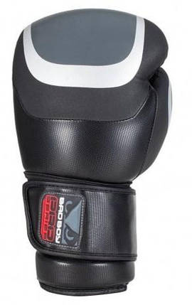 Боксерские перчатки Bad Boy Pro Series 3.0 Black/Grey 10 ун., фото 2