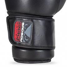 Боксерские перчатки Bad Boy Pro Series 3.0 Black/Grey 10 ун., фото 3