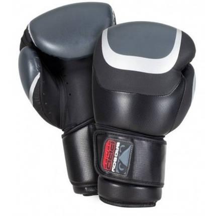Боксерские перчатки Bad Boy Pro Series 3.0 Black/Grey 14 ун., фото 2
