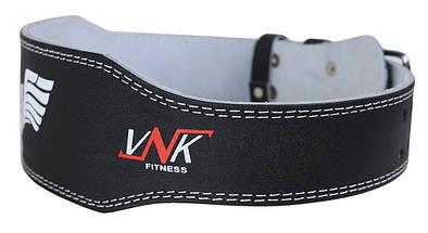Пояс для тяжелой атлетики VNK Leather M, фото 3