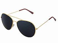 Перфораційні окуляри з дірочками для тренування зору PXQ463