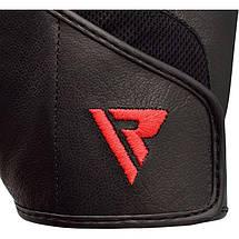 Перчатки для фитнеса RDX S2 Leather Black S, фото 3