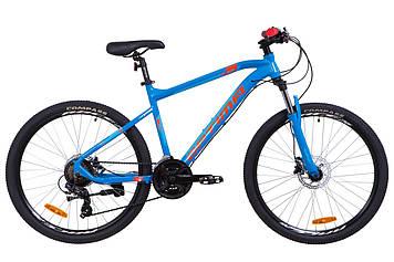 "Велосипед 26"" Optimabikes F-1 AM 14G HDD Al 2019 (сине-оранжевый )"