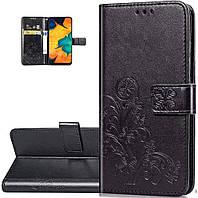 Чехол Clover для Samsung Galaxy A51 2020 / A515 книжка кожа PU черный, фото 1