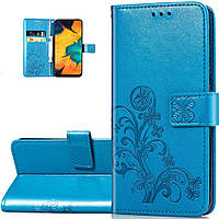 Чехол Clover для Samsung Galaxy A51 2020 / A515 книжка кожа PU голубой, фото 1