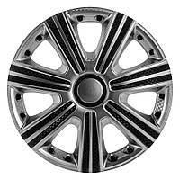 Колпаки (4шт) R13 DTM Super Silver карбоновый STAR