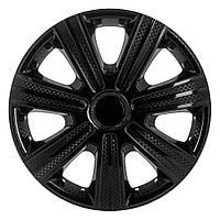 Колпак R14 DTM черный карбоновый STAR