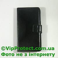 Lenovo S650 черный чехол-книжка на телефон, фото 1
