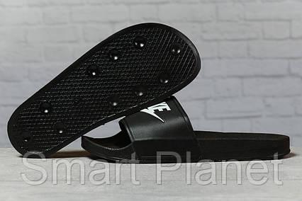 Шлепанцы мужские 17342, Nike, черные, < 41 > р. 41-26,0см., фото 2