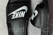 Шлепанцы мужские 17342, Nike, черные, < 41 > р. 41-26,0см., фото 3