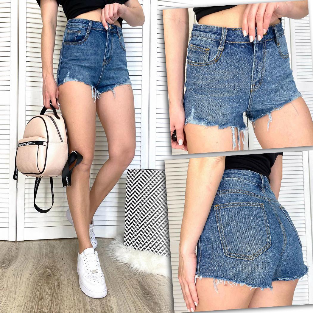 3315 Meiyiran шорты джинсовые женские котоновые (S-L, 6 ед.)