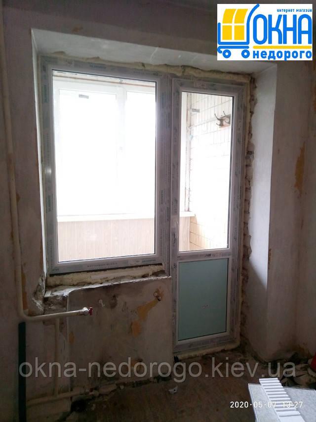 Балконний блок Salamander Київ вул. Шевельова 49/20 фото бригади 6