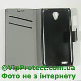 Lenovo S650 черный чехол-книжка на телефон, фото 3