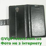 Lenovo S650 черный чехол-книжка на телефон, фото 4