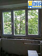 Цена на окна Саламандер - трехстворчатое дешевле Киев, фото 3