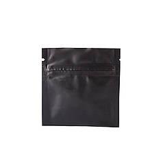 Пакет саше 80х80 (черный матовый) / 100шт