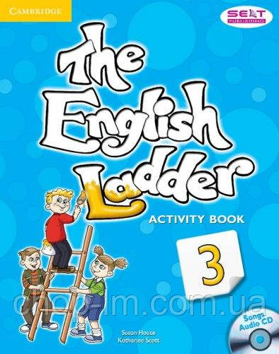 Тетрадь к учебнику - The English Ladder: Level 3 Activity Book with Songs Audio CD / Katharine Scott