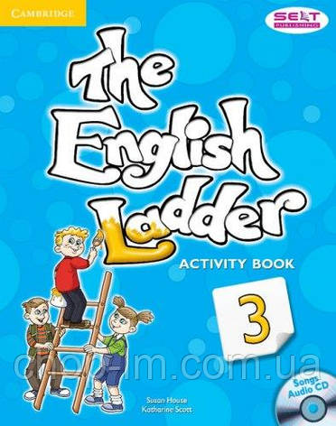 Тетрадь к учебнику - The English Ladder: Level 3 Activity Book with Songs Audio CD / Katharine Scott, фото 2