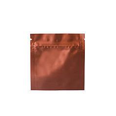 Пакет саше 80х80 (коричневый матовый) / 100шт