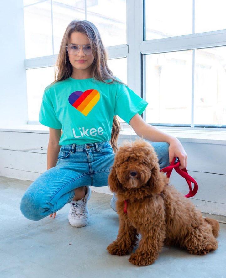 """Детская летняя футболка 0012 """"Likee"""" в расцветках"""