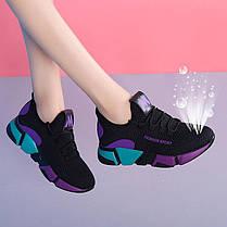 Стильные летние кроссовки с яркими вставками, 36 -40, фото 2