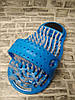 Массажный тапочек Easy Feet Щётка-массажёр для ног Голубой, фото 8
