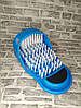 Массажный тапочек Easy Feet Щётка-массажёр для ног Голубой, фото 3