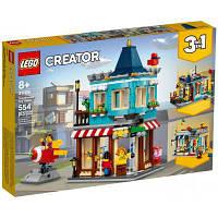 Конструктор LEGO Creator Городской магазин игрушек 554 детали (31105) (код 1102707)