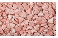 """Посыпка """"Сердца розовые перламутр"""" 750 г (код 01521)"""