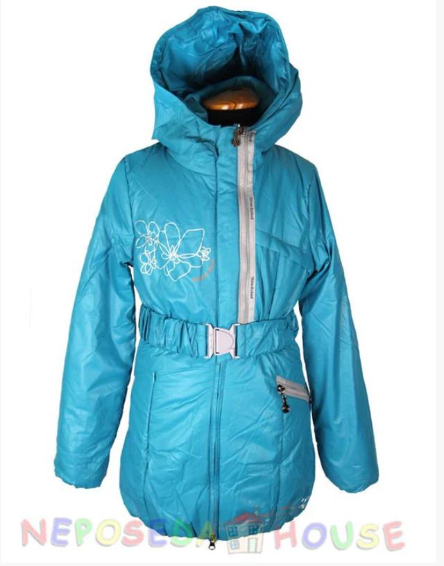 Куртка-парка для девочки подростка 140-164рост