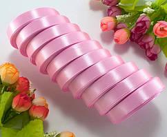 Лента атласная LiaM Нежно розовая 1,2 см ширина 25 ярдов