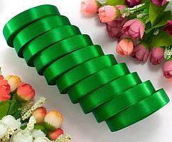 Лента атласная LiaM Зеленая 1,2 см ширина 25 ярдов