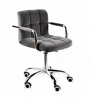 Кресло офисное на колесах ARNO - ARM БТ СЕРЫЙ В-1004 CH-OFFICE, Onder Mebli