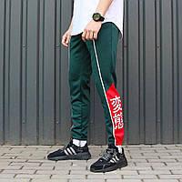 Спортивные штаны ТУР Creed зеленые, фото 1
