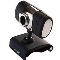 Веб-камера Hi-Rali HI-CA009, вебкамера с микрофоном для Zoom, Viber, Skype