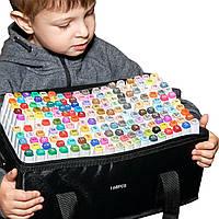 168 цветов! Большой набор двусторонних маркеров Touch для рисования и  скетчинга на спиртовой основе  168 штук