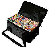Большой набор маркеров Touch 168 цветов для рисования и скетчинга на спиртовой основе, Видеообзор!, фото 7