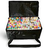 Большой набор маркеров Touch 168 цветов для рисования и скетчинга на спиртовой основе, Видеообзор!, фото 6