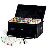 Большой набор маркеров Touch 168 цветов для рисования и скетчинга на спиртовой основе, Видеообзор!, фото 5