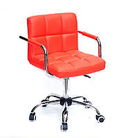 Кресло офисное на колесах ARNO - ARM ЭК КРАСНЫЙ 1007 CH-OFFICE, Onder Mebli