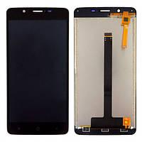 Дисплей модуль для Blackview P2 Lite в зборі з тачскріном, чорний