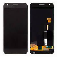 Дисплей для Google Pixel, HTC S1 Google Pixel модуль в сборе с тачскрином, черный
